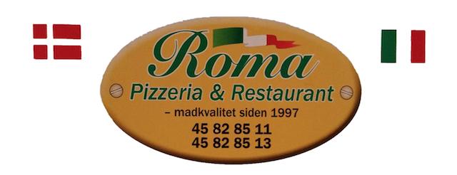 Roma Pizza Birkerød logo
