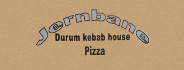 Jernbane Pizza Lyngby logo