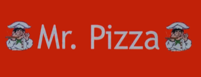 Mr. Pizza Glostrup logo