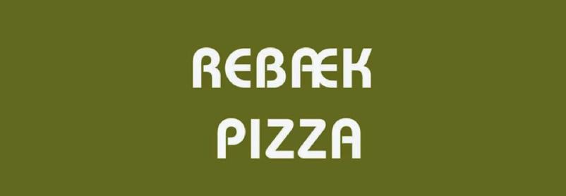 Rebæk Pizza logo