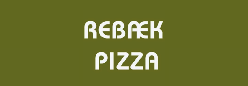 Rebæk Pizza logo