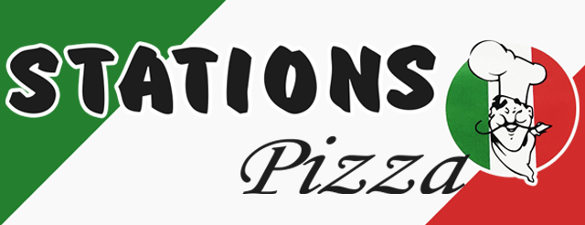 Stations Pizza Herning logo