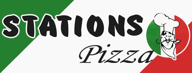 Stations Pizza Herning logo