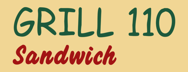 Grill 110 Sandwich logo
